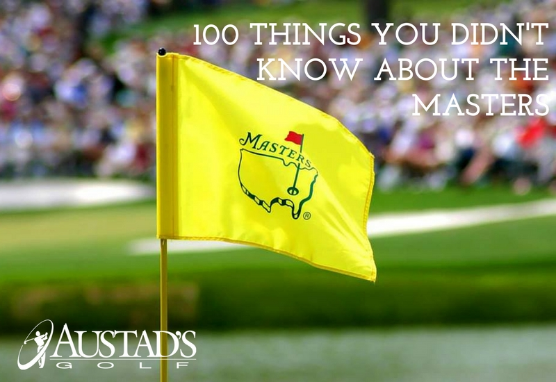100 Things You Didn't Know About The Masters
