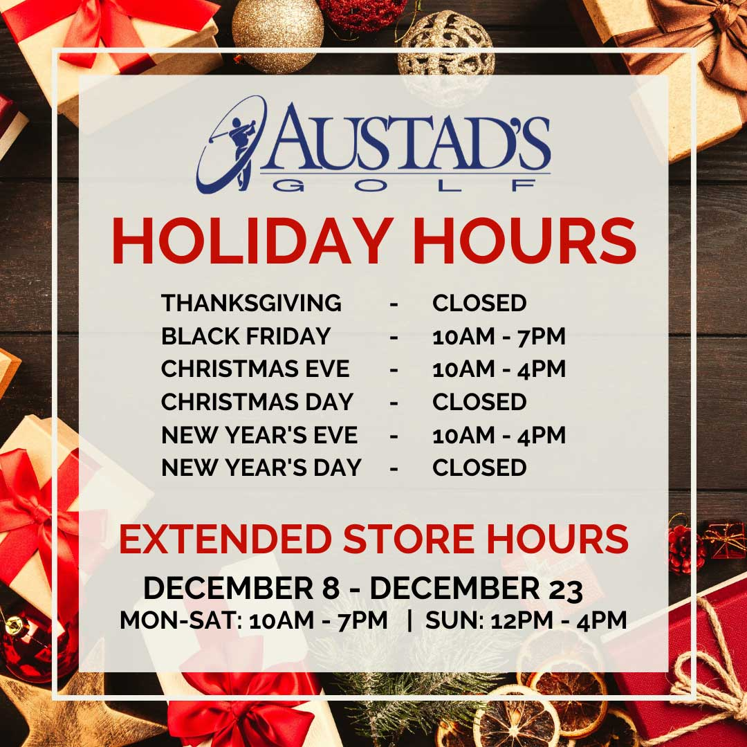 Austad's Holiday Store Hours