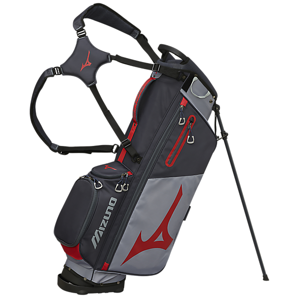 Mizuno Golf BR-D3 Stand Bag Grey Red