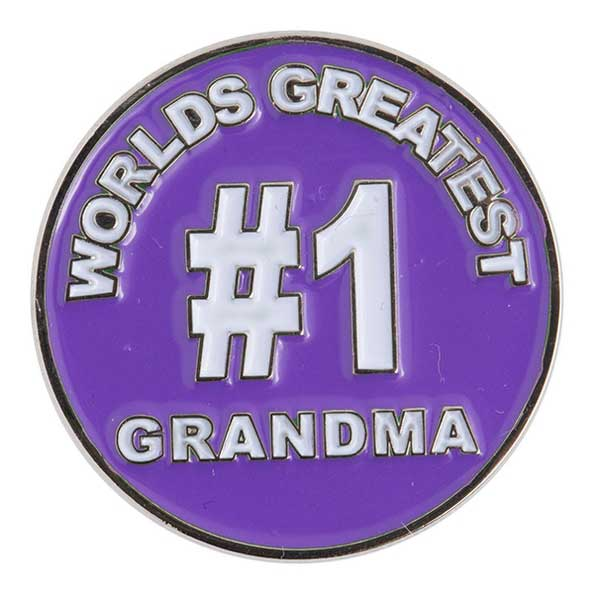 Evergolf World's Greatest Grandma Ball Marker