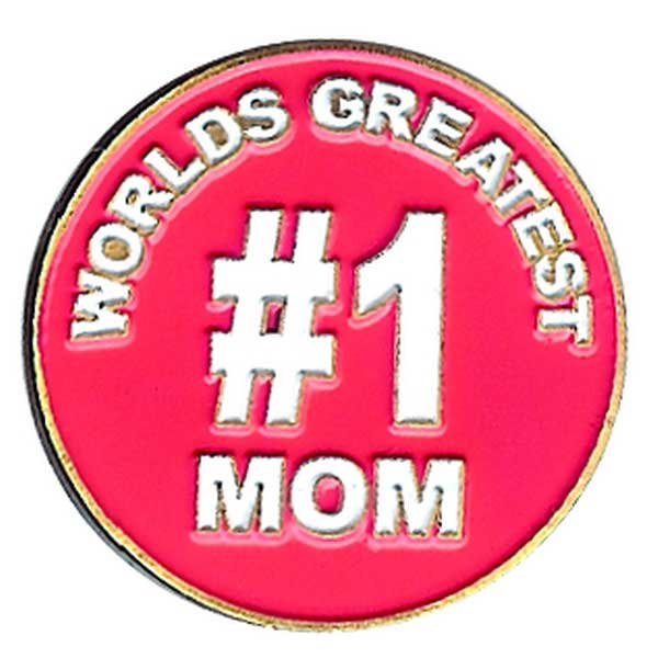 Evergolf World's Greatest Mom Ball Marker