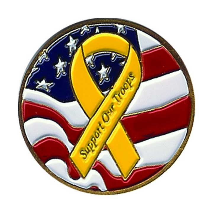 Evergolf Support the Troops Ball Marker