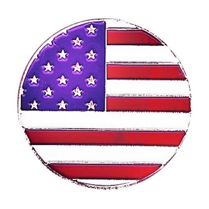 Evergolf American Flag Ball Marker