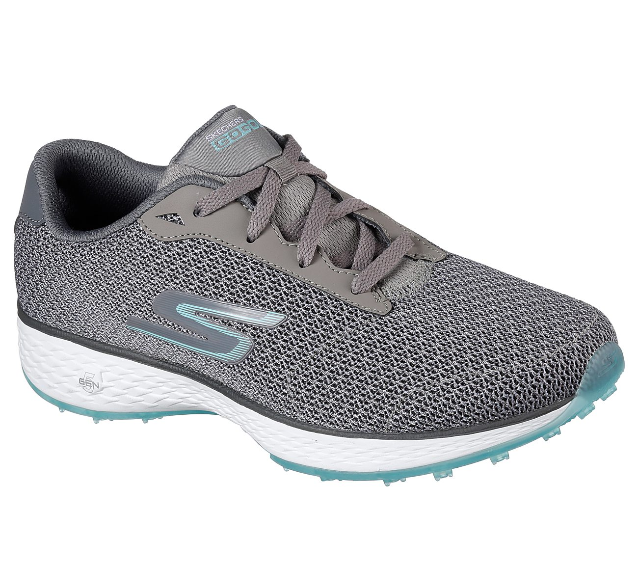Skechers Go Golf Eagle Range Golf Shoe - Grey/Blue