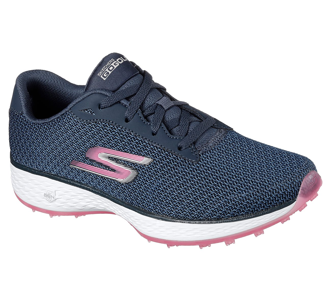 Skechers Women's Go Golf Eagle Golf Shoe - Navy/Pink