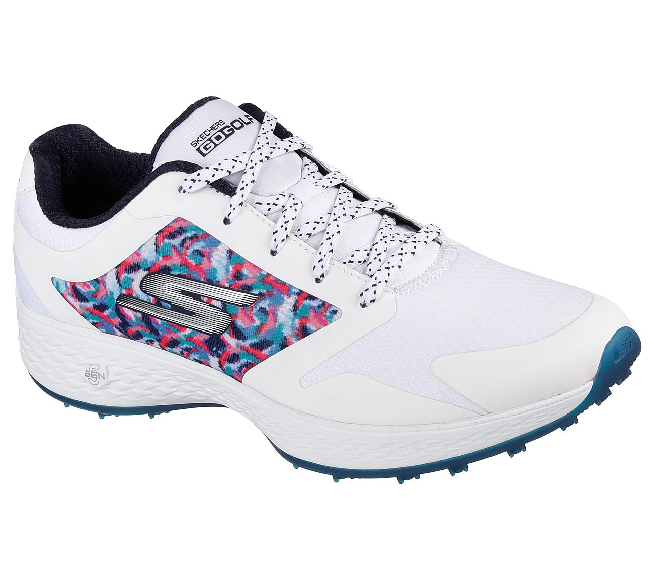 Skechers Women's Go Golf Eagle Golf Shoe - White/Navy