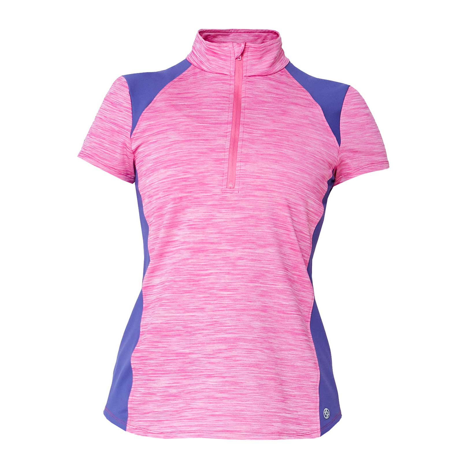 Lija Women's Apex Links 1/4 Zip Polo