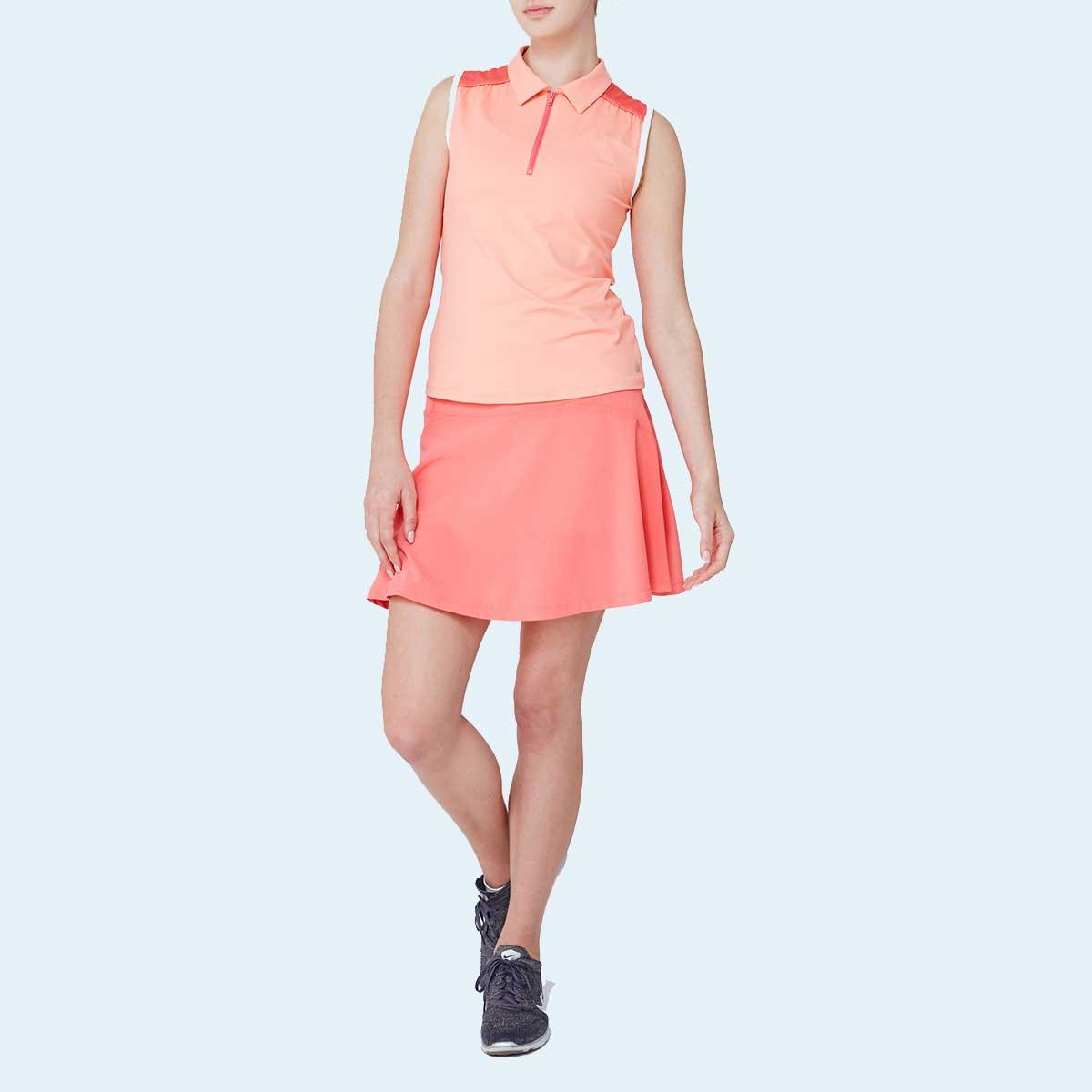 Lija Women's Elite Align Sleeveless Polo