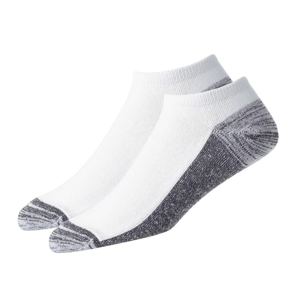FootJoy ProDry Low Cut 2-Pack White Socks