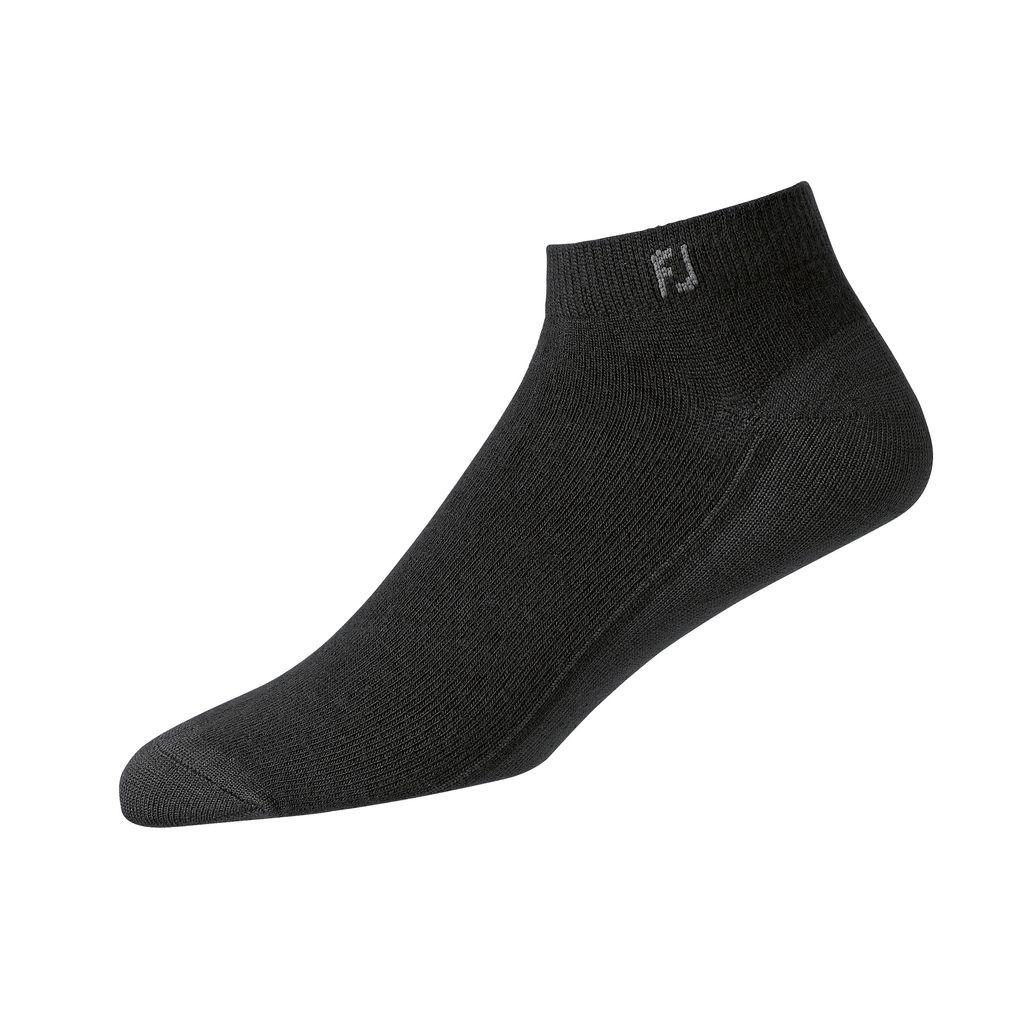 FootJoy ProDry Lightweight Black Sport Sock