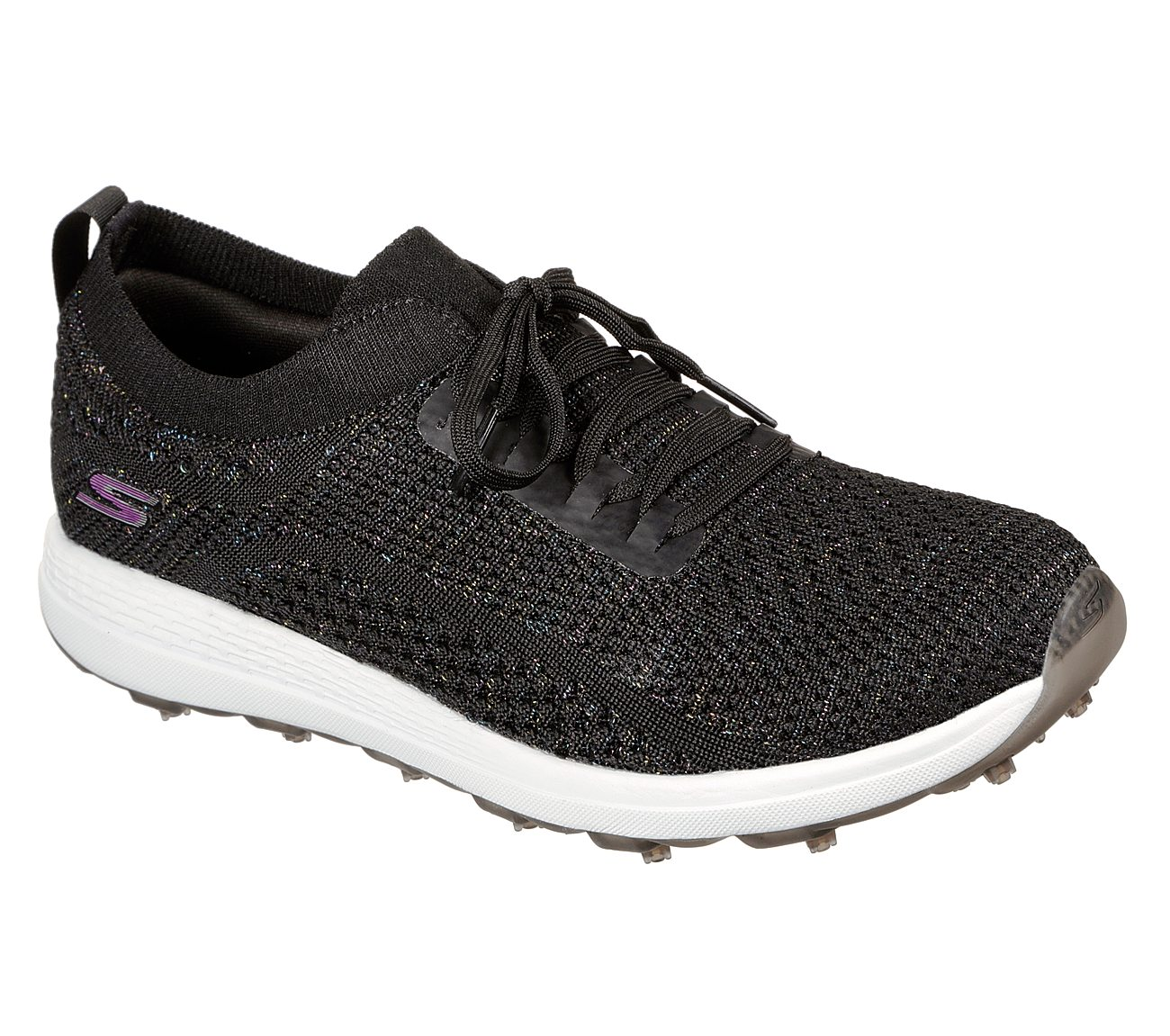 Skechers Women's Go Golf Max Glitter Black Golf Shoe