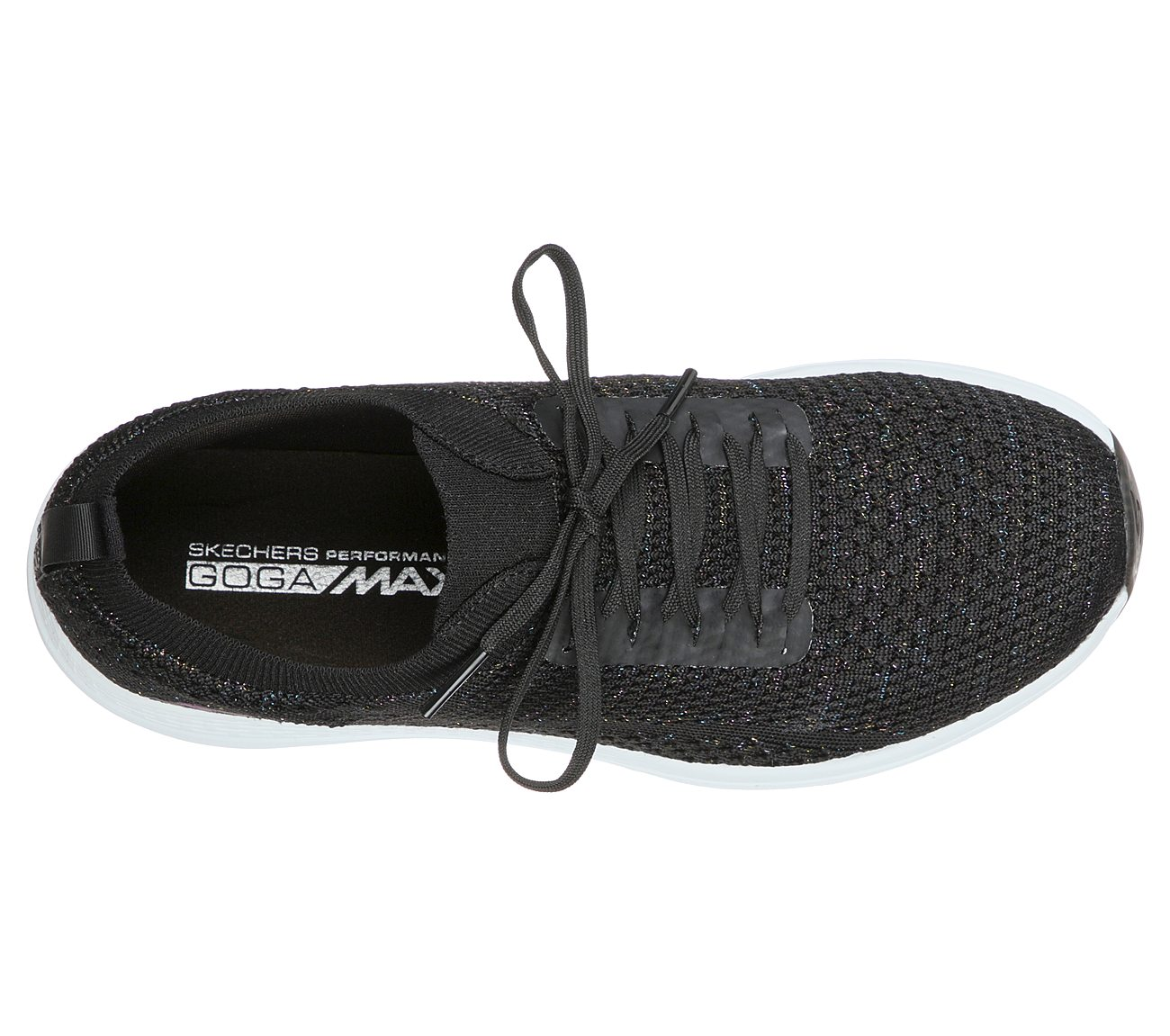 Skechers Women's Go Golf Max Glitter Black Golf Shoe
