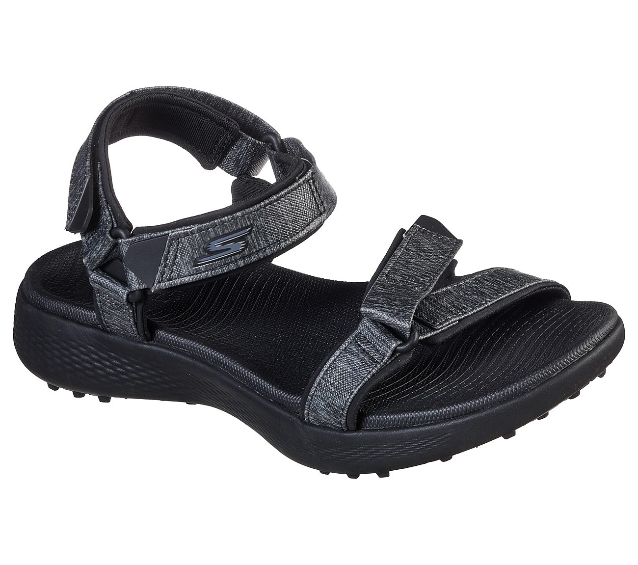 Skechers Women's Go Golf 600 Black Sandal