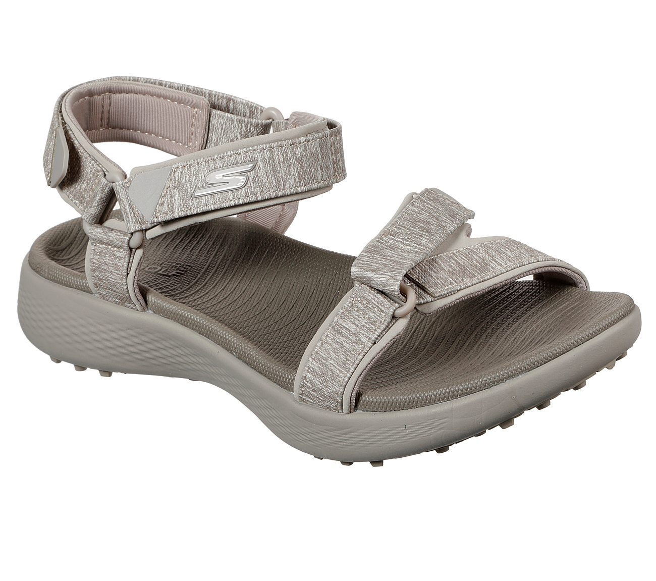 Skechers Women's Go Golf 600 Taupe Sandal