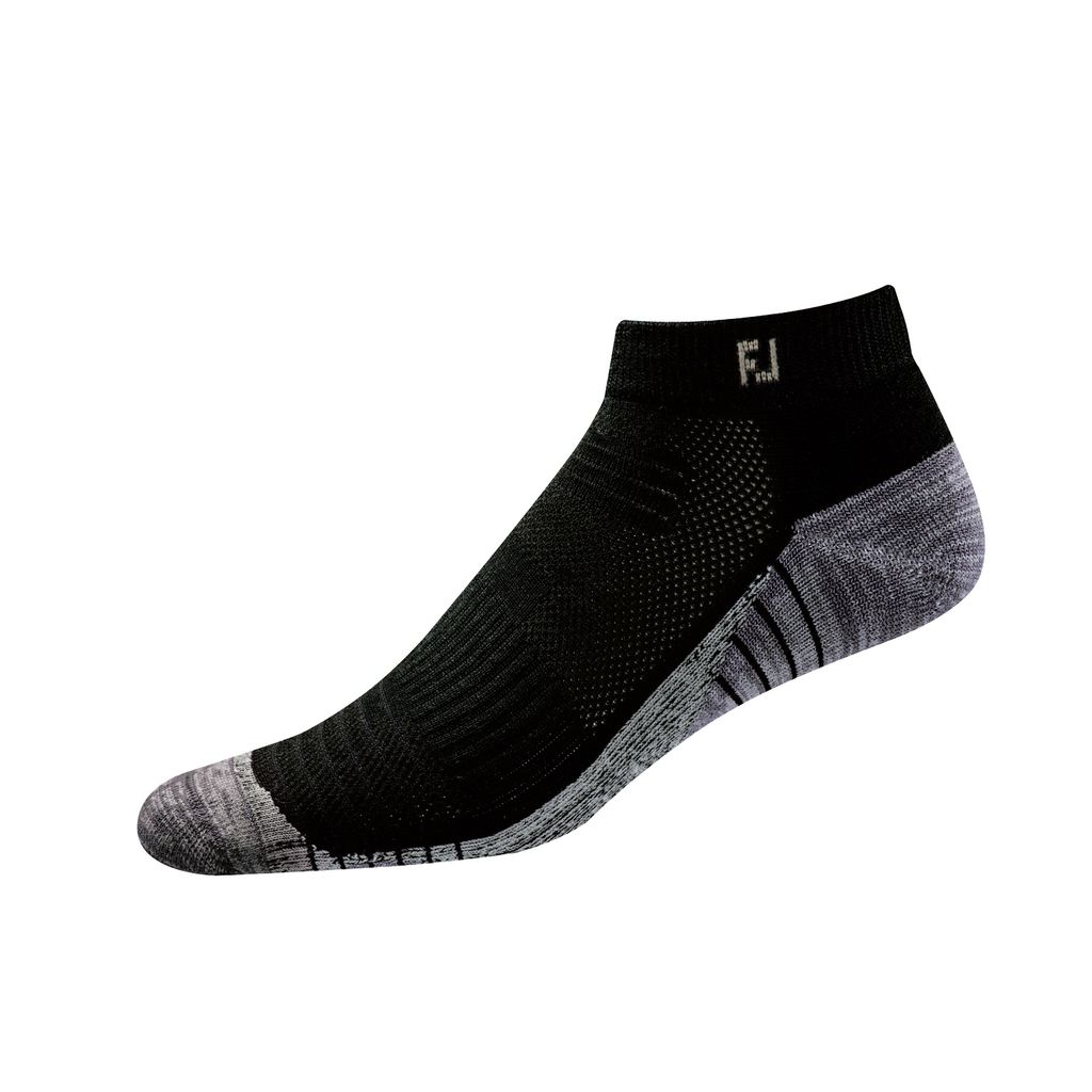 FootJoy TechSof Tour Sport Black Sock
