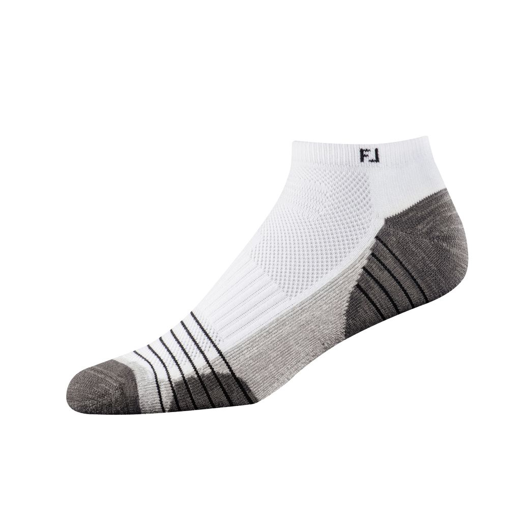 FootJoy TechSof Tour Low Cut White Socks