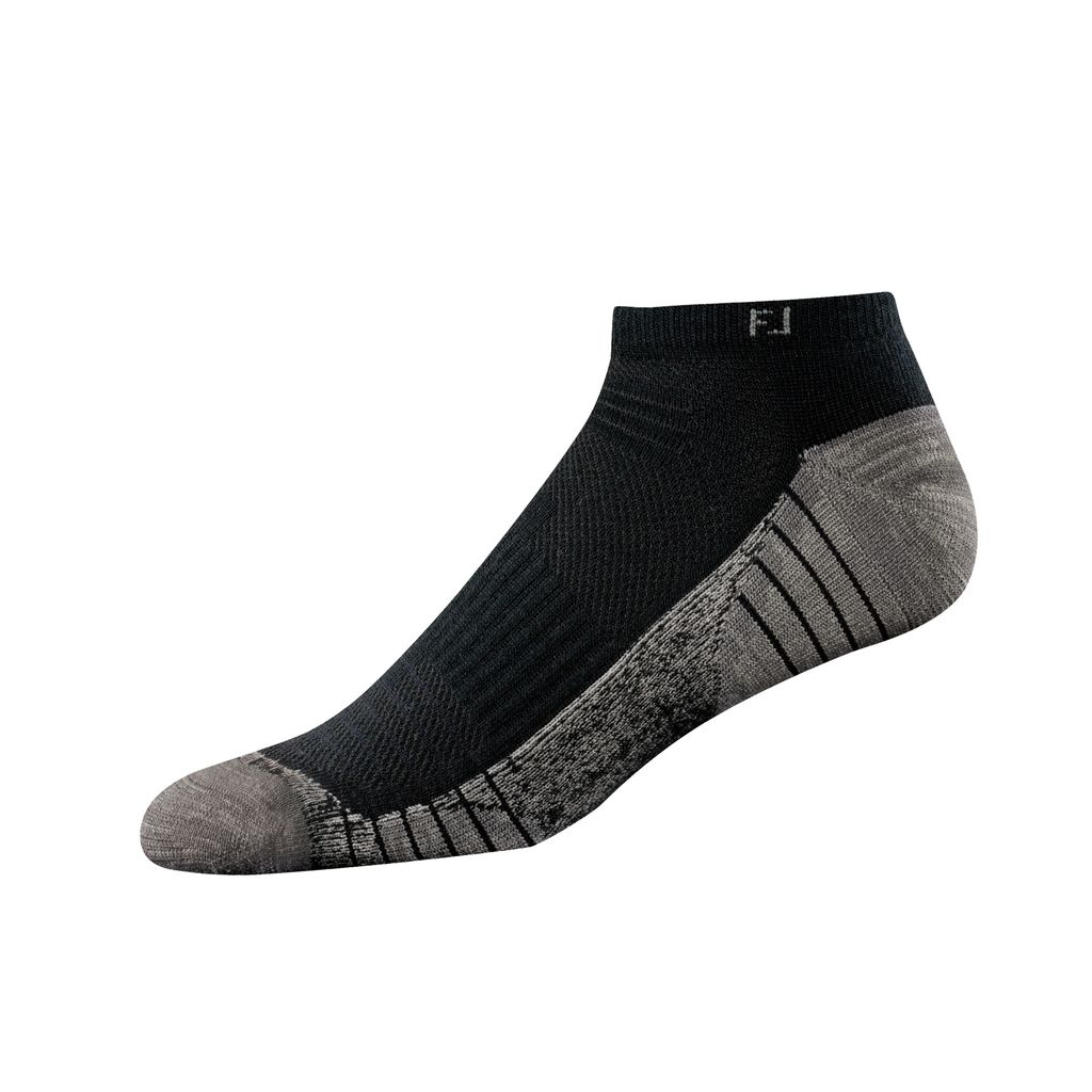 FootJoy TechSof Tour Low Cut Black Socks