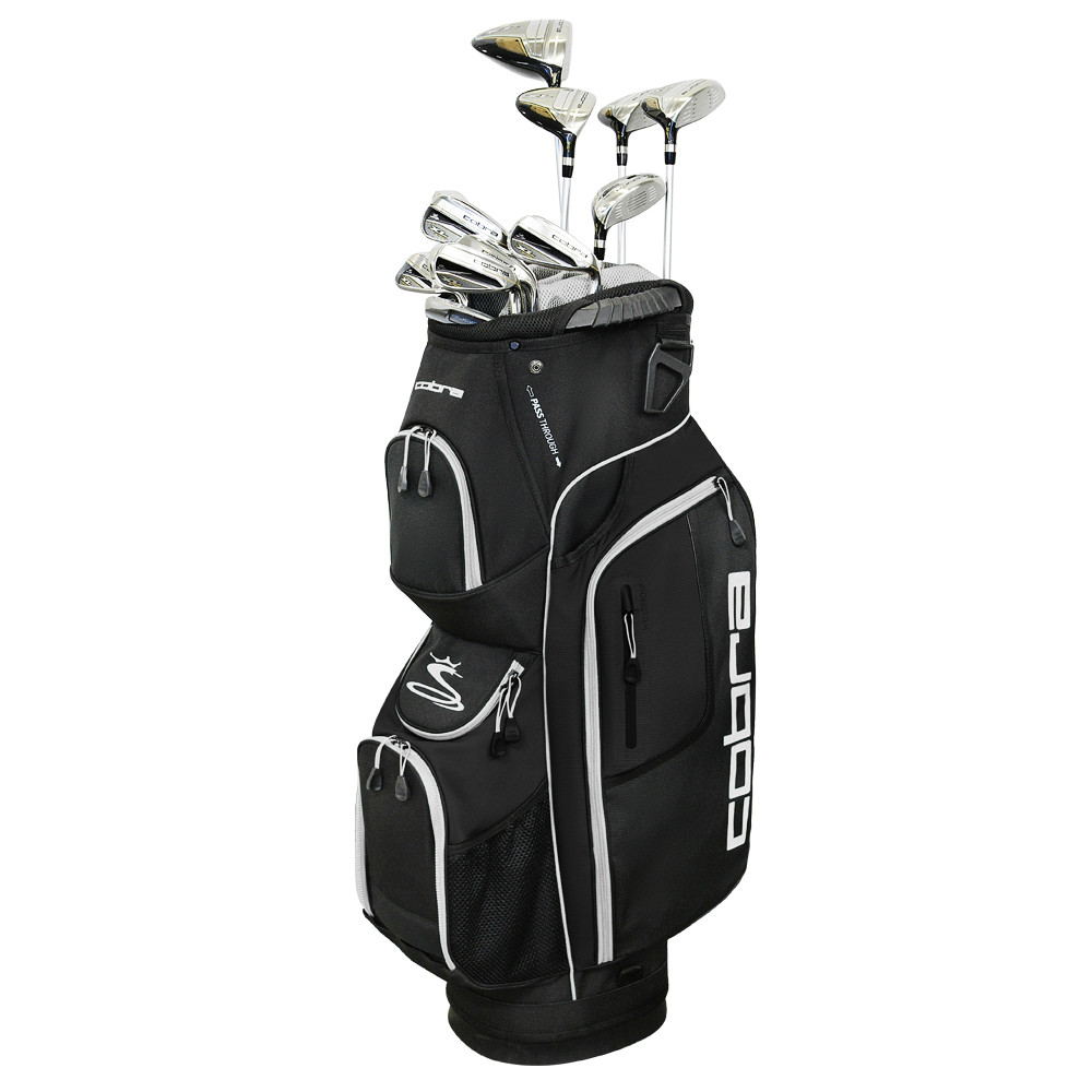 Cobra Men's 2019 XL Speed Complete Set w/ Steel Shafts