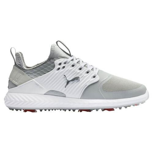 Puma Men's Ignite Pwradapt Caged Gray Golf Shoes