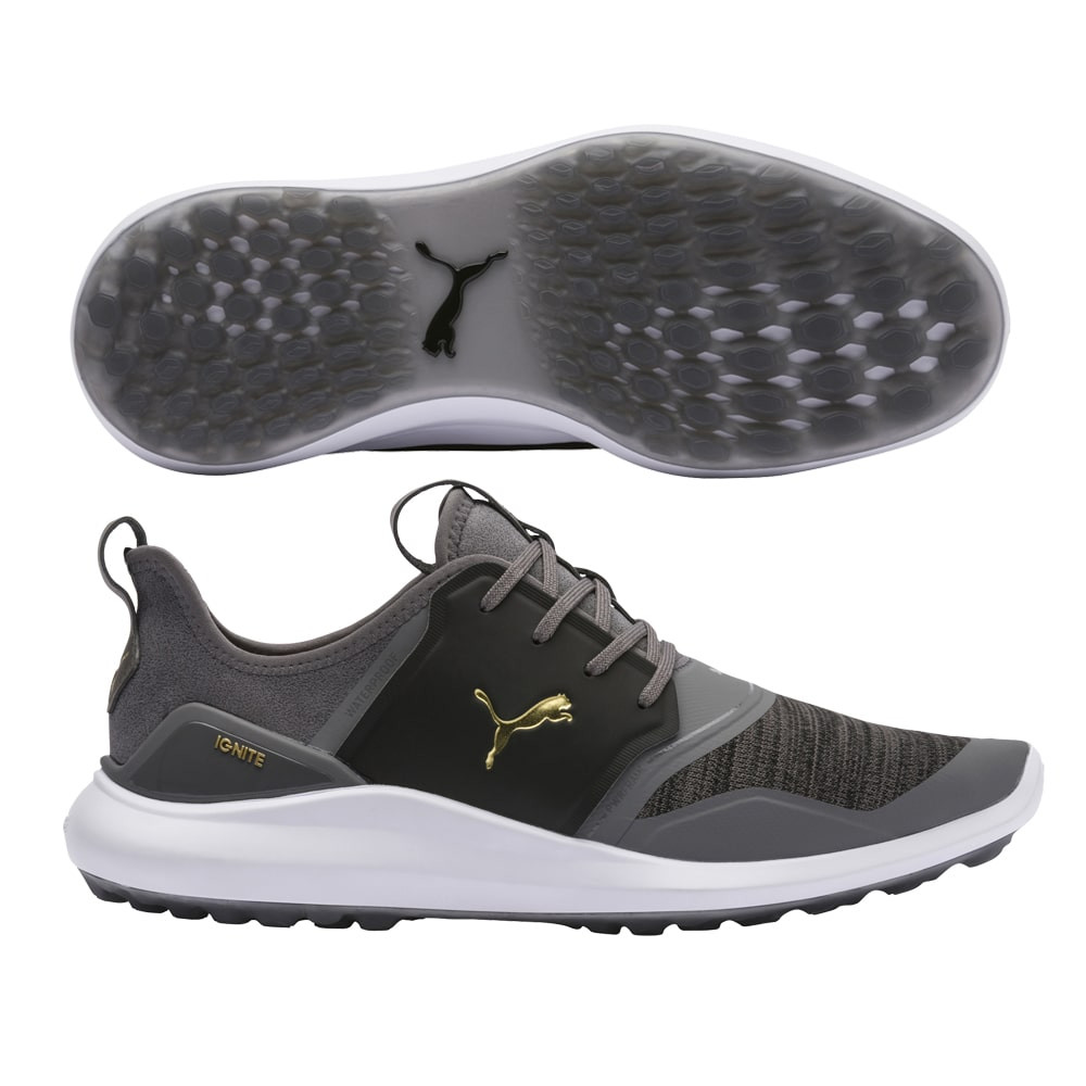 Puma Ignite NXT Lace Grey/Black Golf Shoes