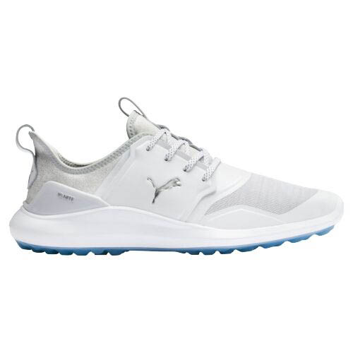 Puma Men's Ignite NXT White/Silver Golf Shoes