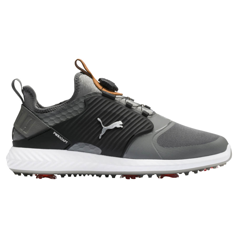 Puma Men's Pwradapt Caged DISC Quiet Shade Golf Shoes