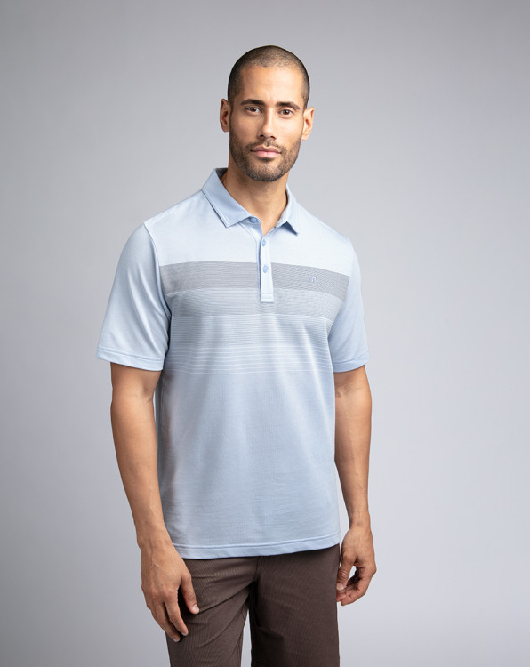 Travis Mathew Open To Buy Heather Kentucky Polo