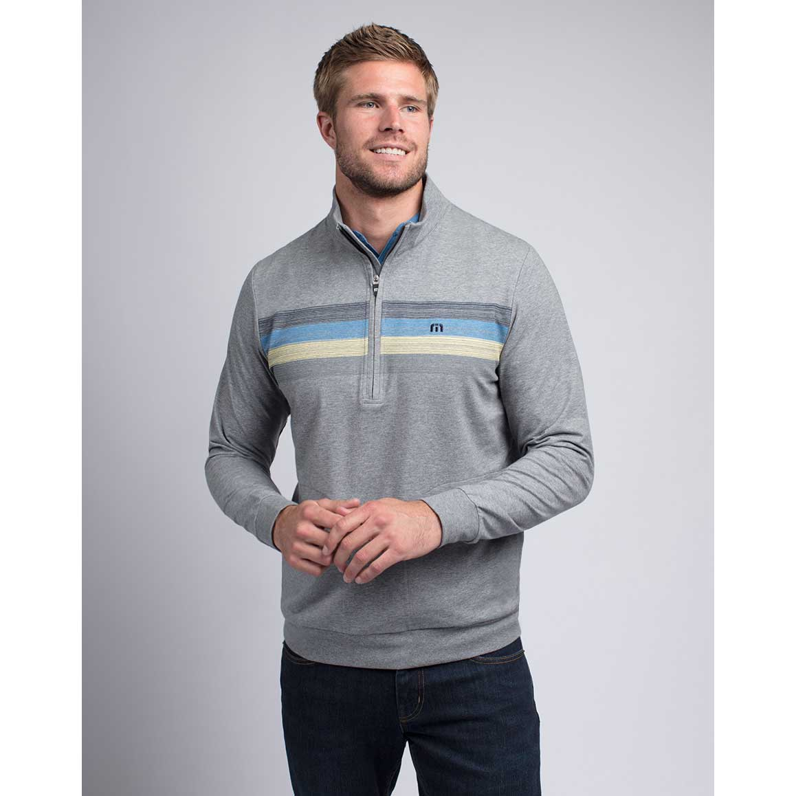 Travis Mathew False Alarm 1/2 Zip Pullover