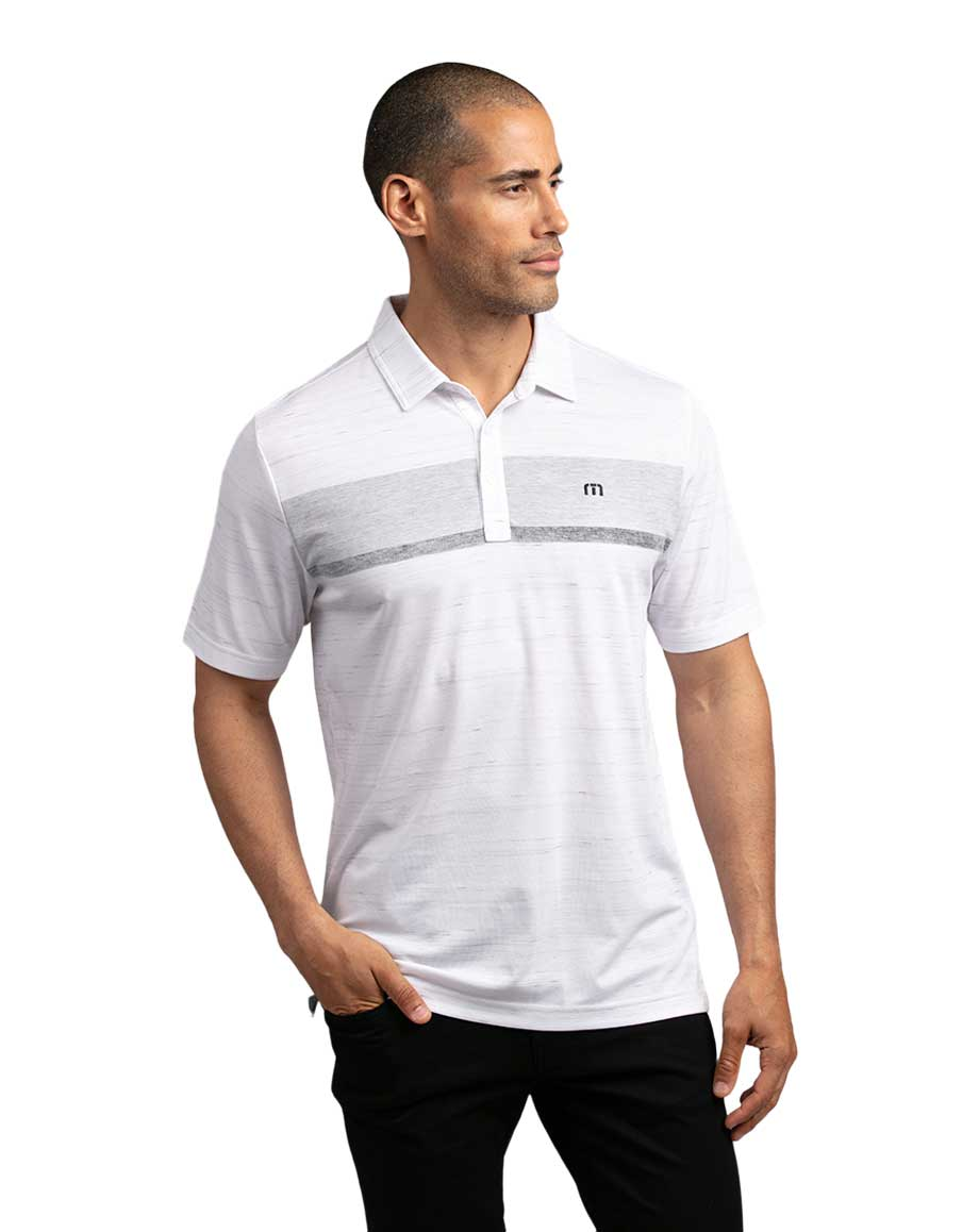 Travis Mathew There Are Rules Polo