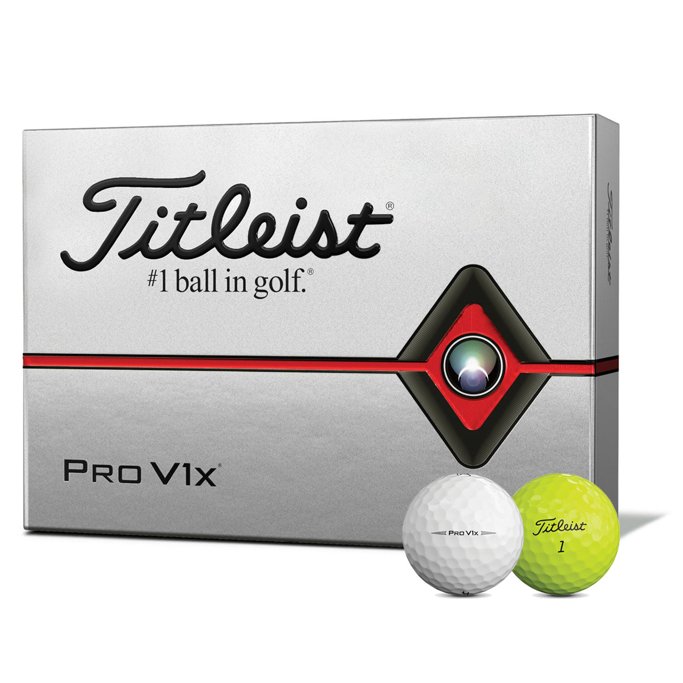 NEW Titleist Pro V1x Golf Balls