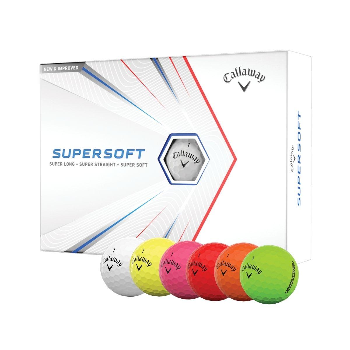 Callaway 2021 Supersoft Golf Balls