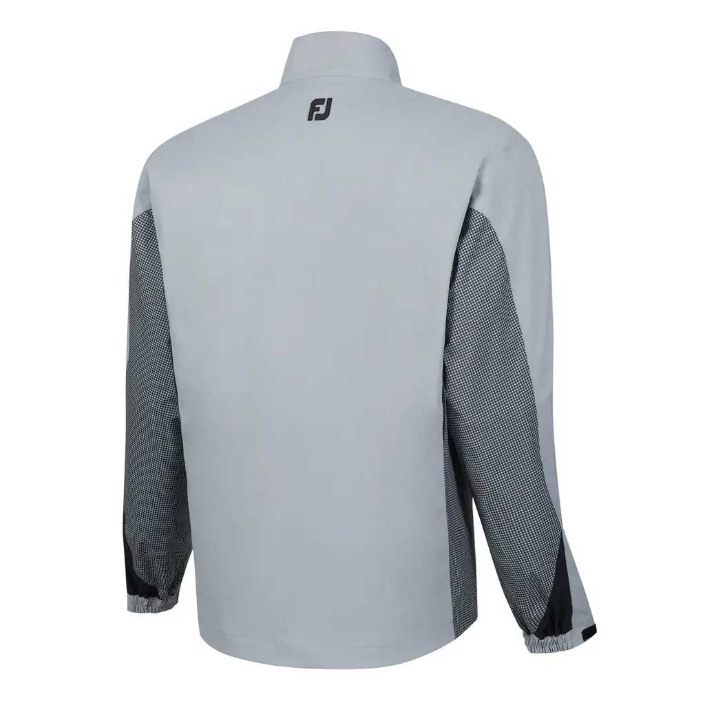 FootJoy HydroLite Grey Full Zip Rain Jacket