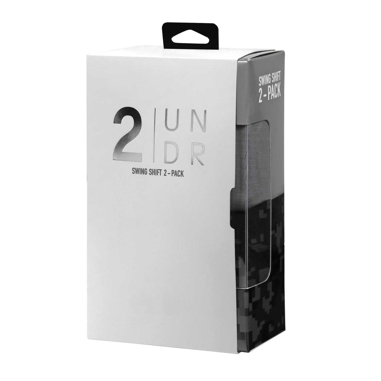 "2Undr Swing Shift 6"" Boxer Briefs - 2 Pack"