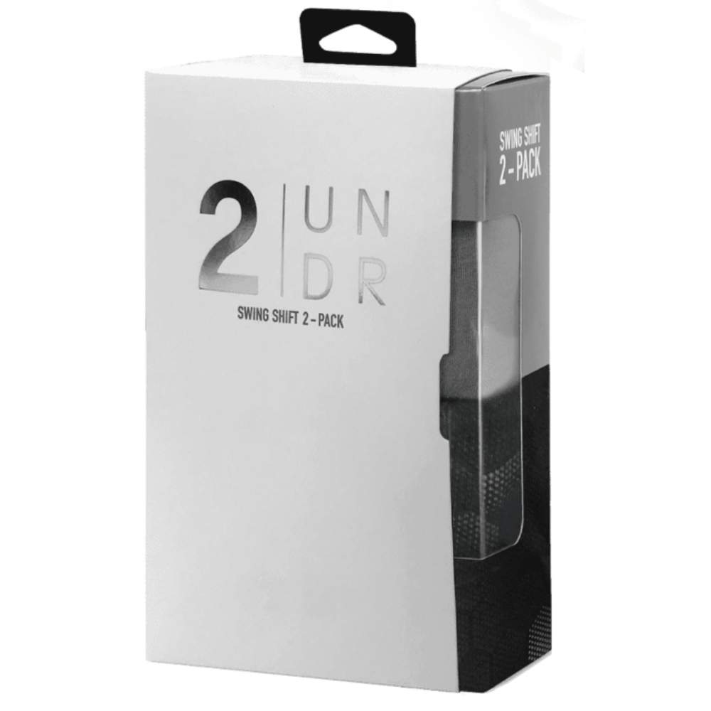 2Undr Swing Shift 6 Inch Boxer Brief 2-Pack