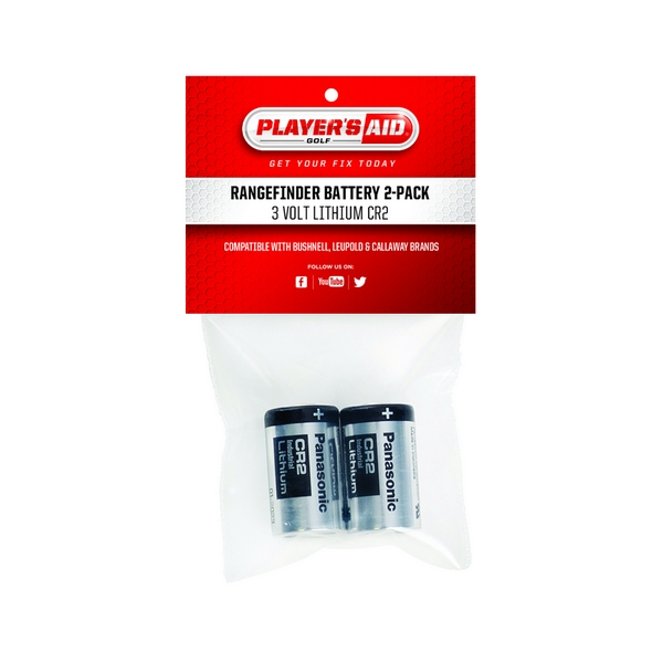Global Tour Range Finder 2-Pack Replacement Batteries