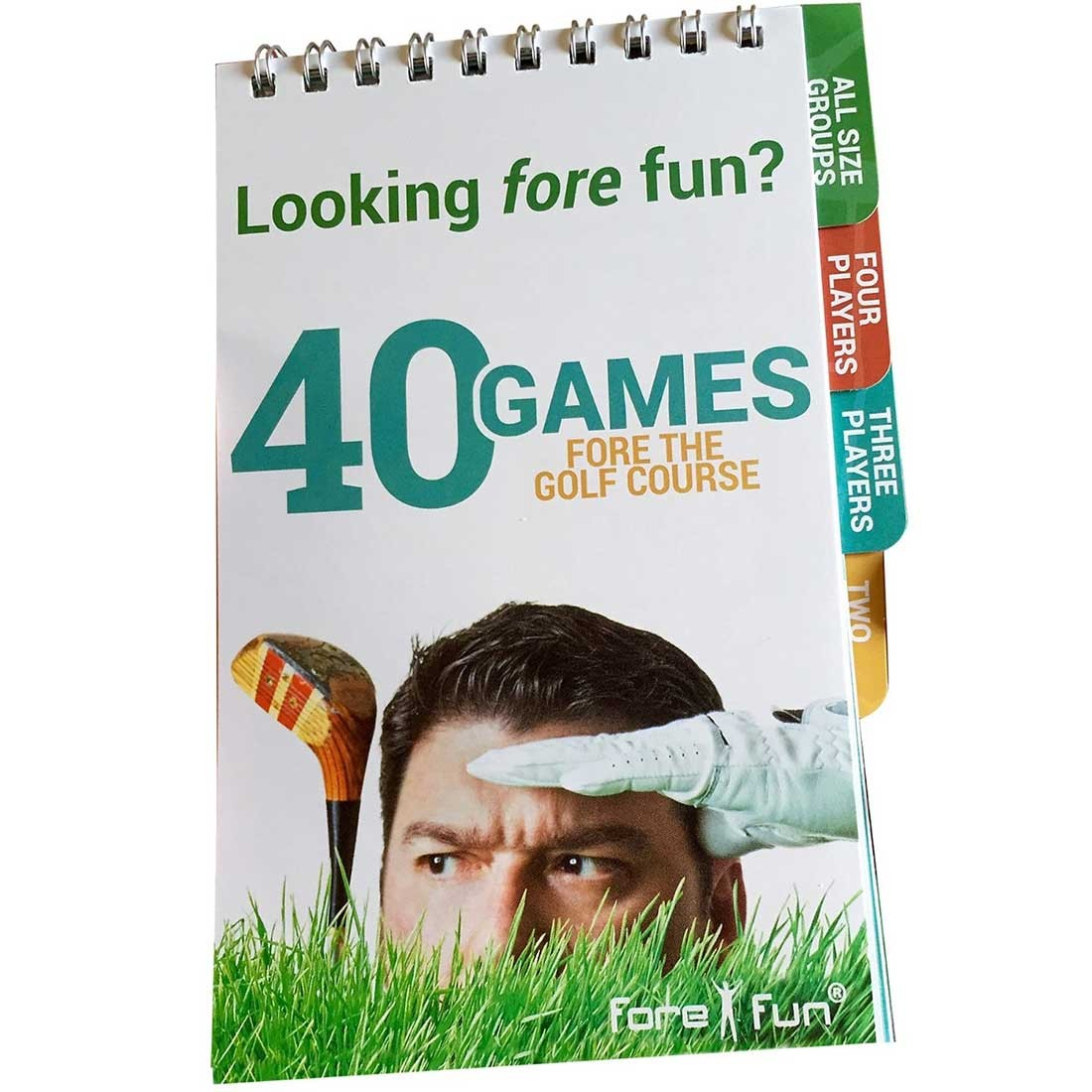 40 Games Fore The Golf Course Book