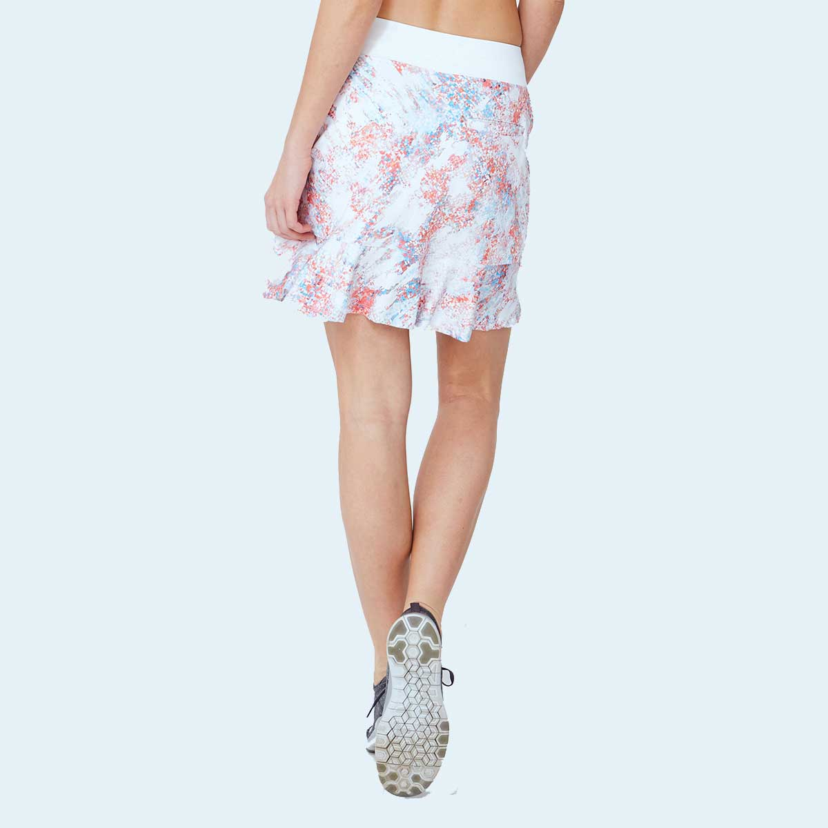Lija Women's Spartan Chip Abstract Skort