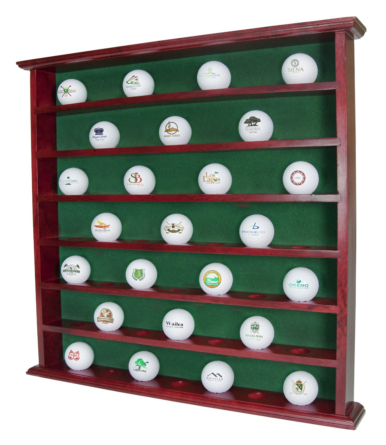 49 Hole Golf Ball Display Cabinet