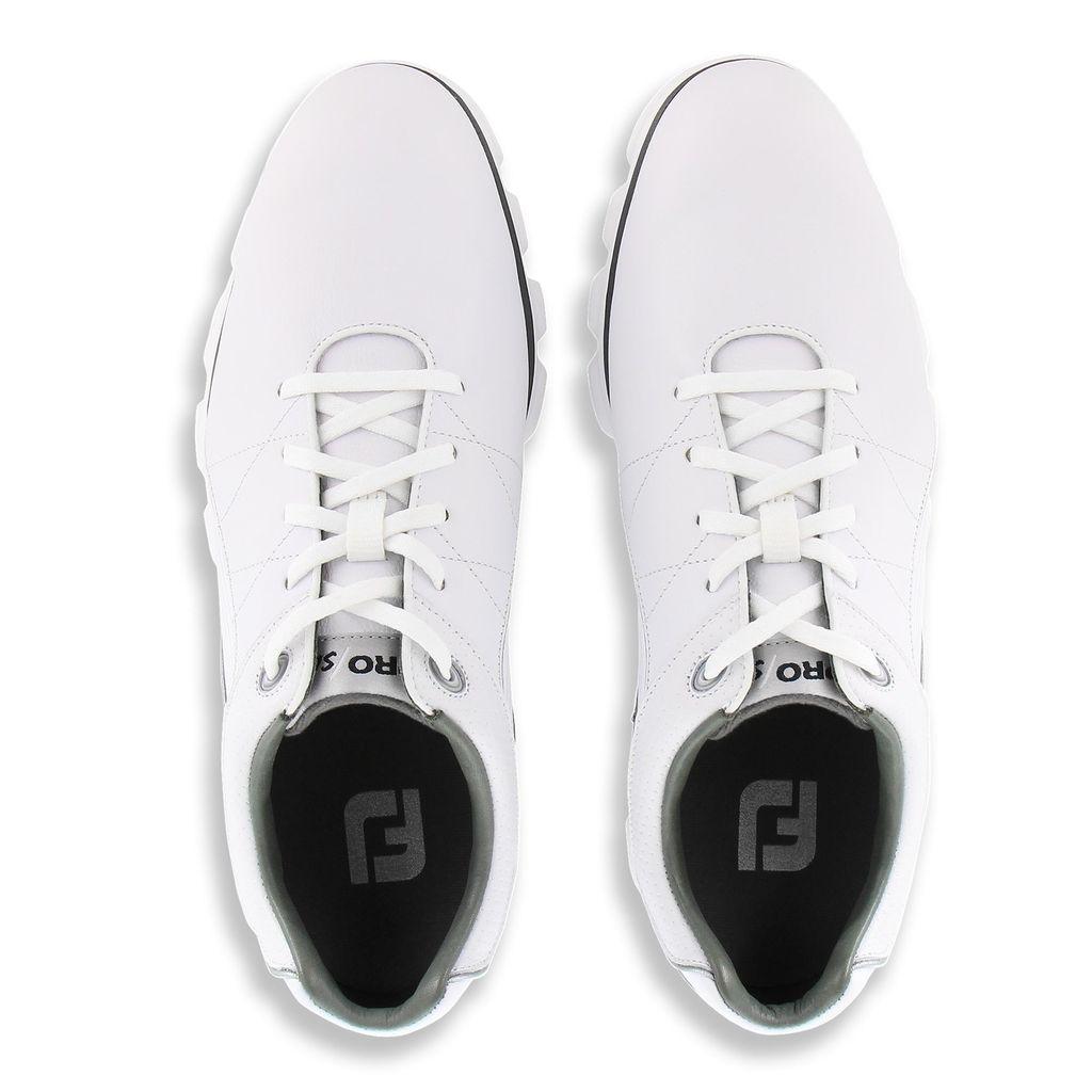 FootJoy Men's Pro/SL White/Grey Golf Shoes