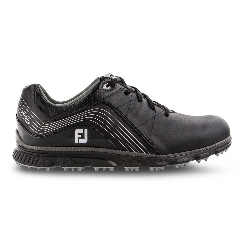 FootJoy Men's Pro/SL Black Golf Shoes