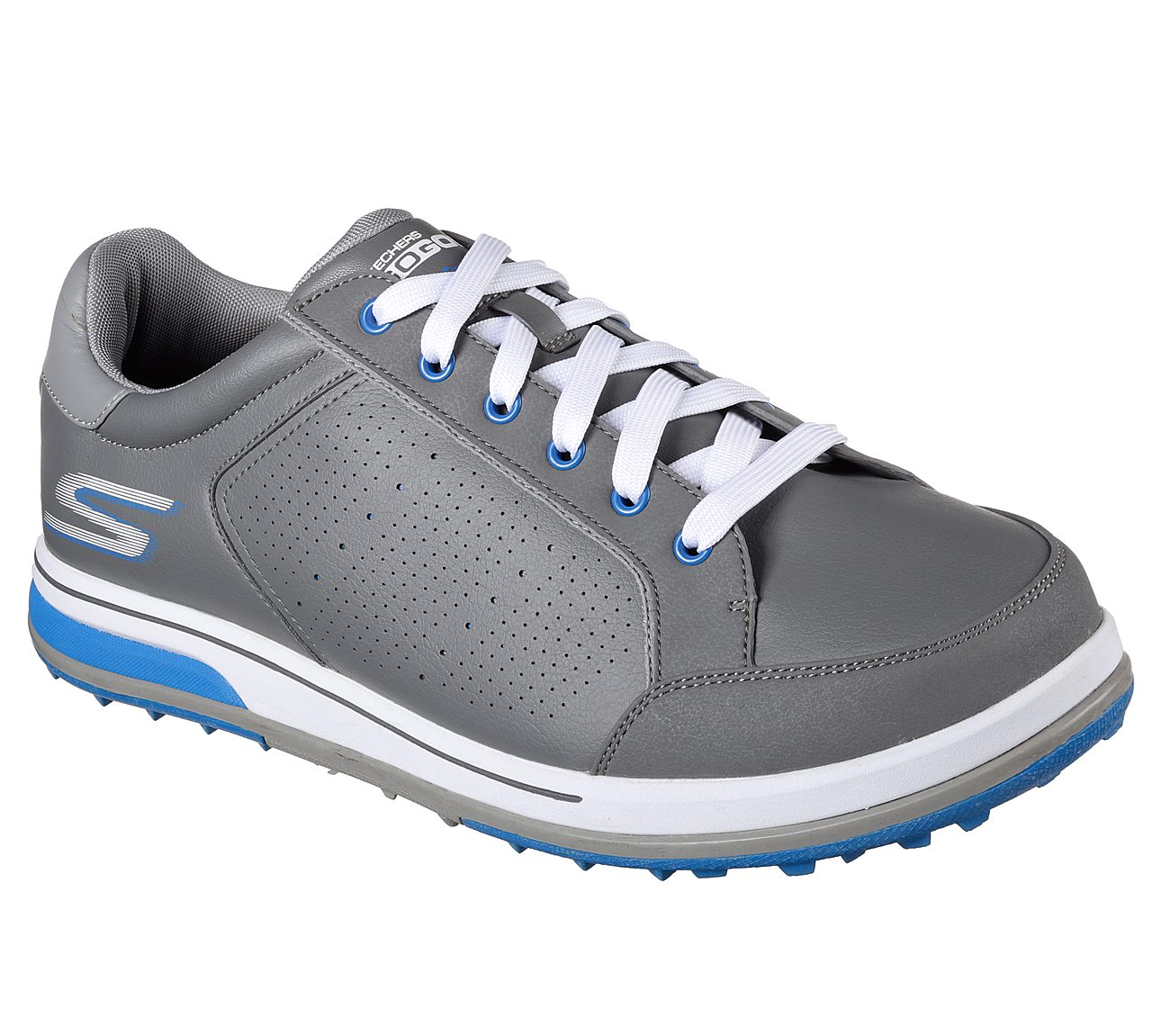 Skechers Go Golf Drive 2 Golf Shoe - Grey/Blue