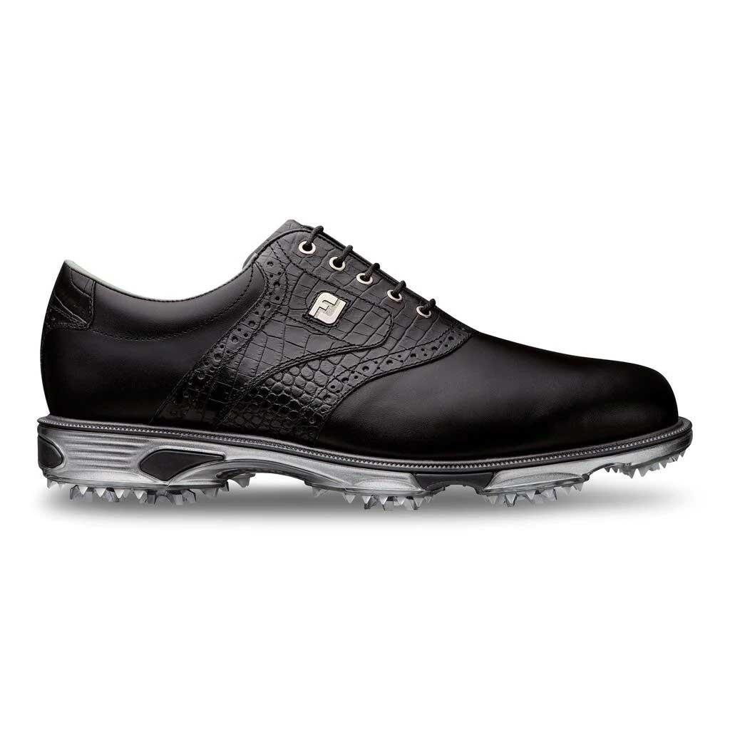 FootJoy Men's 2020 DryJoys Tour Black Golf Shoe (Disc. #53678)