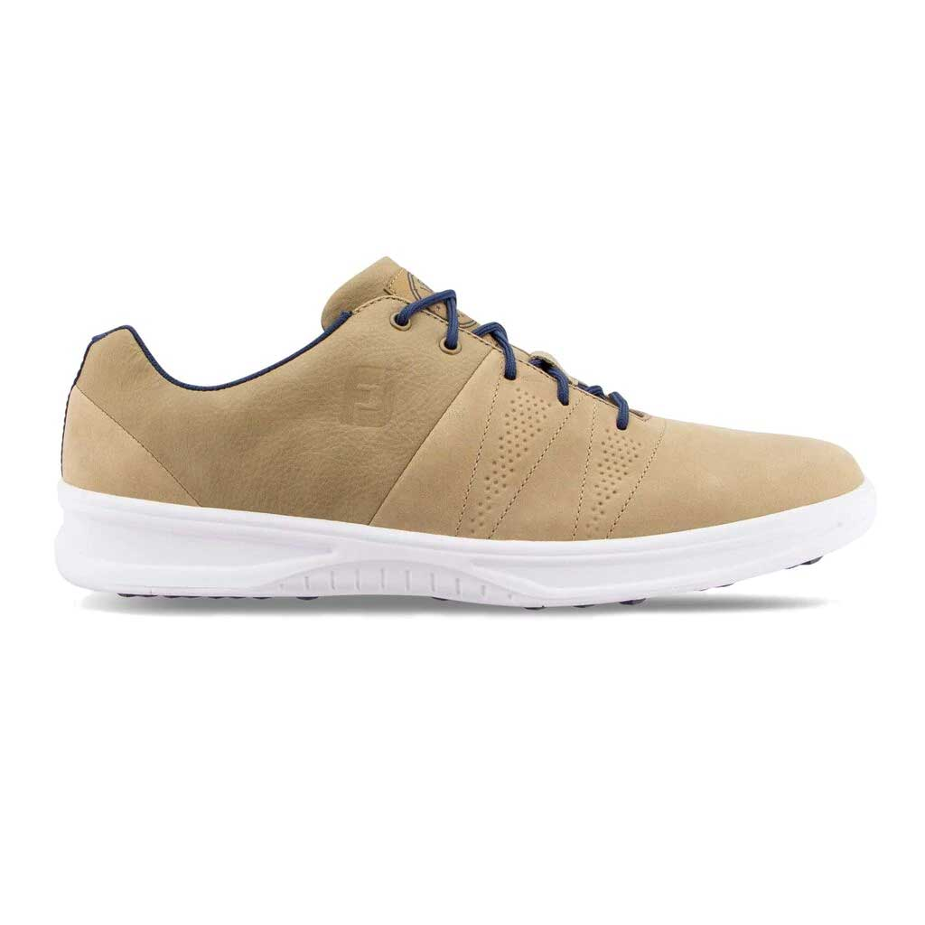 FootJoy Men's Contour Casual Taupe Golf Shoe - Previous Season #54056