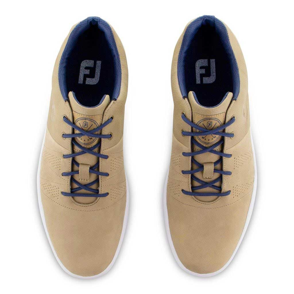 FootJoy Men's 2020 Contour Casual Taupe Golf Shoe