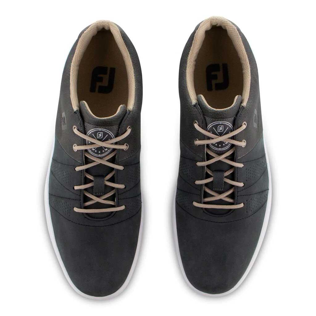 FootJoy Men's 2020 Contour Casual Charcoal Golf Shoe