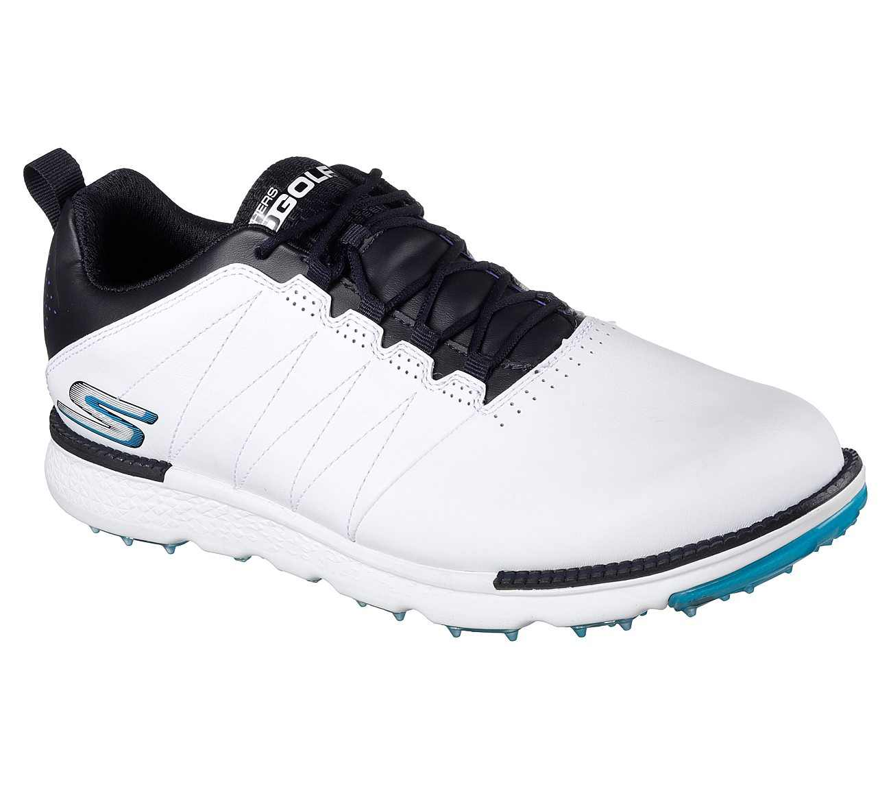 Skechers Go Golf Elite V3 Golf Shoe - White/Navy