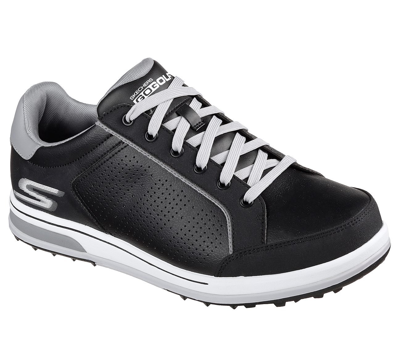 Skechers Go Golf Drive 2 Golf Shoe - Black/White