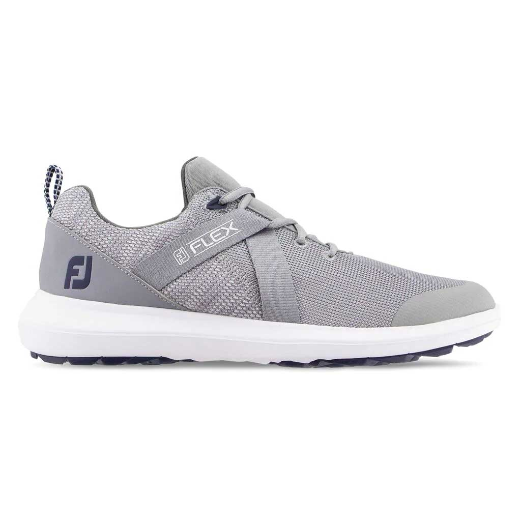 FootJoy Men's FJ Flex Grey Golf Shoe
