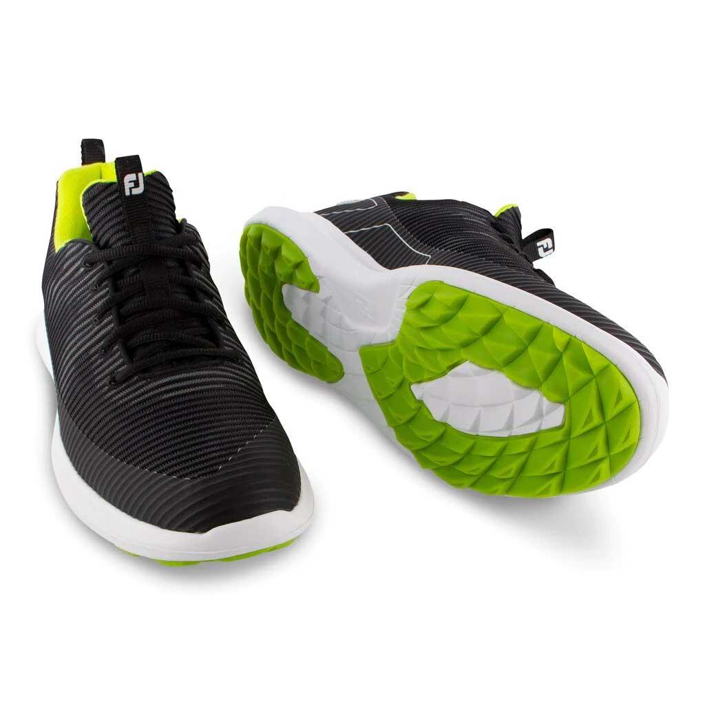 FootJoy Men's Flex XP Black Golf Shoe - Previous Season #56253