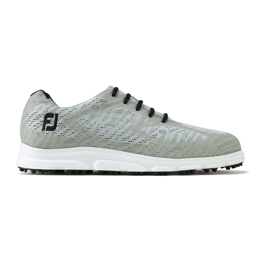 FootJoy Men's Superlites XP Grey Golf Shoes - Previous Season #58025